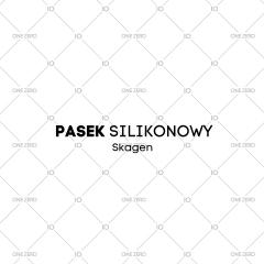 pasek silikonowy Skagen