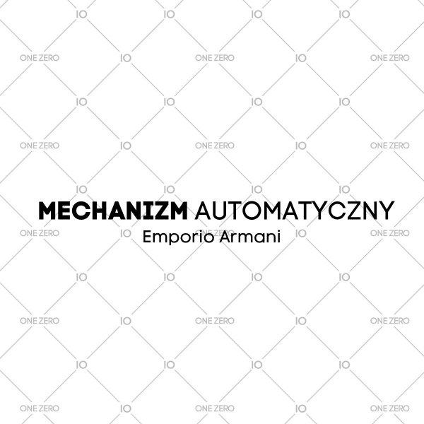 mechanizm automatyczny Emporio Armani • ONE ZERO • Modne zegarki i biżuteria • Autoryzowany sklep