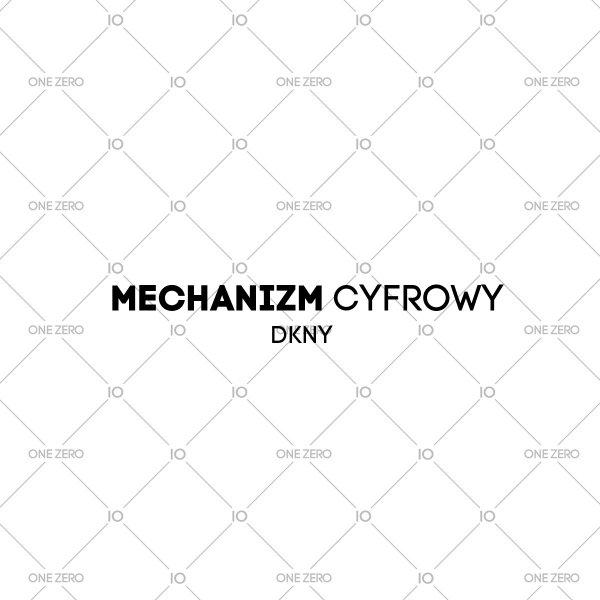mechanizm cyfrowy DKNY • ONE ZERO • Modne zegarki i biżuteria • Autoryzowany sklep