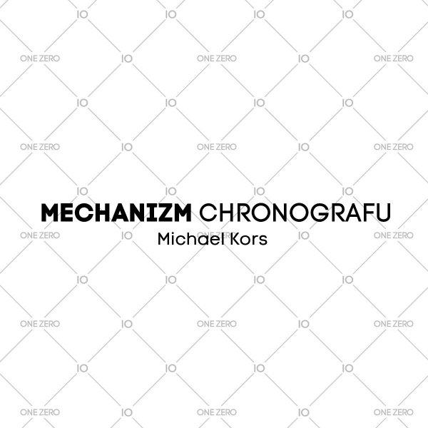 mechanizm chronografu Michael Kors • ONE ZERO • Modne zegarki i biżuteria • Autoryzowany sklep