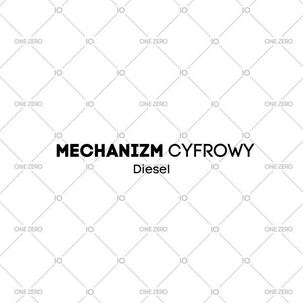 mechanizm cyfrowy Diesel • ONE ZERO • Modne zegarki i biżuteria • Autoryzowany sklep