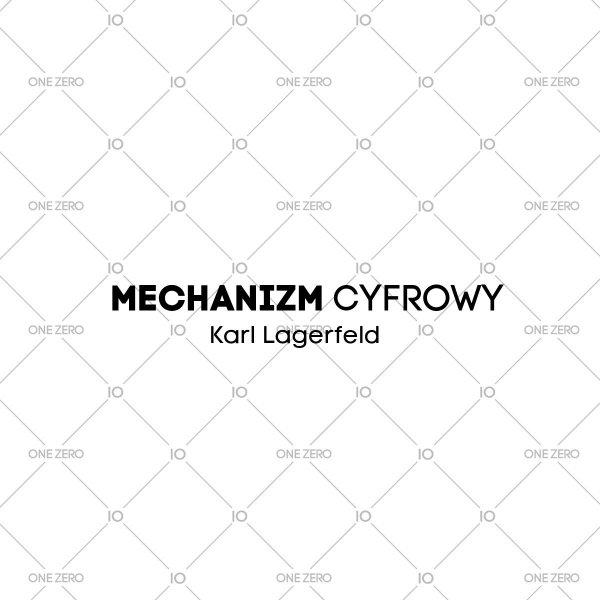 mechanizm cyfrowy Karl Lagerfeld • ONE ZERO • Modne zegarki i biżuteria • Autoryzowany sklep