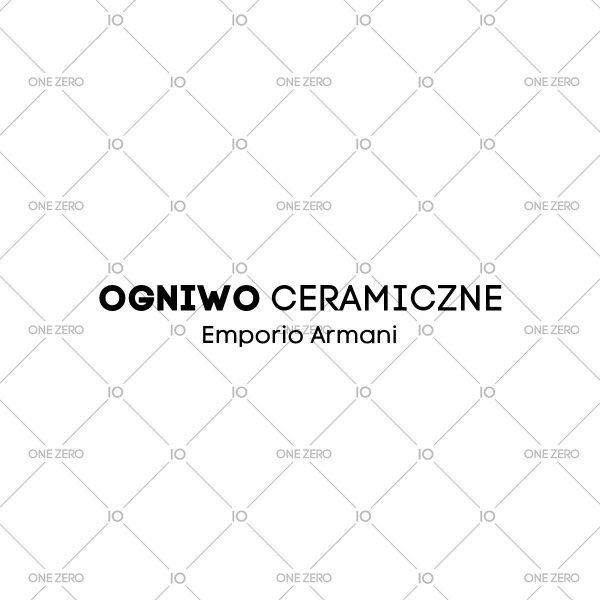 ogniwo ceramiczne Emporio Armani • ONE ZERO • Modne zegarki i biżuteria • Autoryzowany sklep