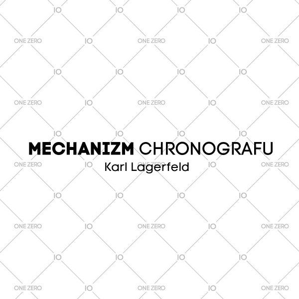 mechanizm chronografu Karl Lagerfeld • ONE ZERO • Modne zegarki i biżuteria • Autoryzowany sklep