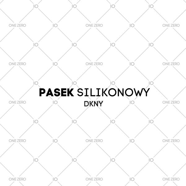 pasek silikonowy DKNY • ONE ZERO • Modne zegarki i biżuteria • Autoryzowany sklep