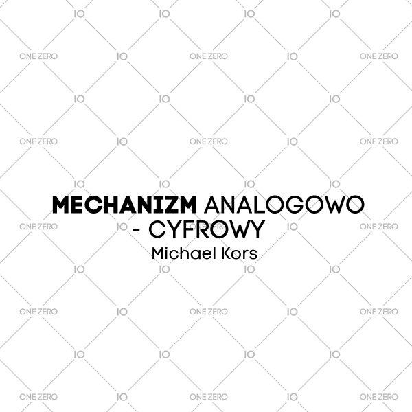 mechanizm analogowo - cyfrowy Michael Kors • ONE ZERO • Modne zegarki i biżuteria • Autoryzowany sklep