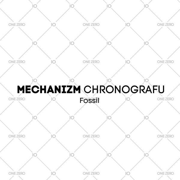 mechanizm chronografu Fossil • ONE ZERO • Modne zegarki i biżuteria • Autoryzowany sklep