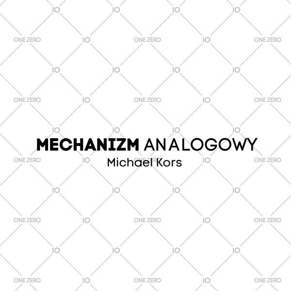 mechanizm analogowy Michael Kors • ONE ZERO • Modne zegarki i biżuteria • Autoryzowany sklep
