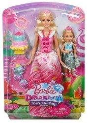 Słodki podwieczorek w Krainie Słodkości Dreamtopia Lalka Barbie Mattel FDJ19
