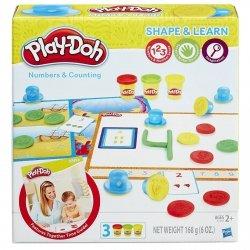 Liczby i liczenie Ciastolina Play-Doh Hasbro B3406