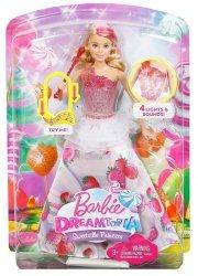 Księżniczka Magiczne Melodie Kraina Słodkości Lalka Barbie Dreamtopia Mattel DYX28