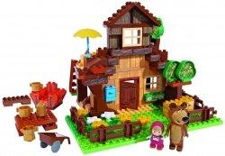 Klocki Masza i Niedźwiedź Wielki Domek Niedźwiedzia 162 el. BIG 57098