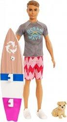 Ken Surfer Barbie Delfiny z Magicznej Wyspy Mattel FBD71