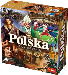 Gra edukacyjna Polska - gra z historią Trefl 01423