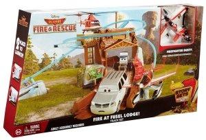 Zestaw Pożar w Kadłubacówce Planes 2 Samoloty Mattel CDR39