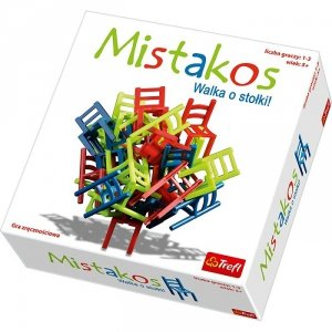 Gra Mistakos Walka o stołki Trefl 01367