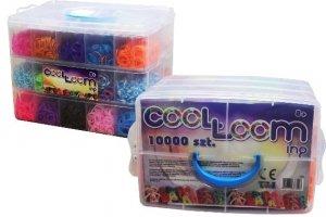 Gumki z atestem mega zestaw w kuferku 10 tys. szt. TM Toys 2435