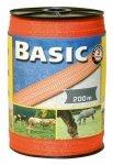 Taśma do ogrodzeń Corral BASIC 40mm - 200m