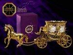 Figurka Koń z karetą Swarovski - Union Crystal