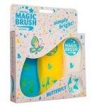 Zestaw szczotek MAGIC BRUSH - BUTTERFLY