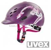 Kask UVEX model ONYX PRINCESS - jagodowy