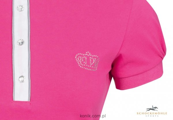 Koszulka konkursowa Schockemohle BELLAMIE - orchid