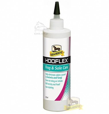 Absorbine® Hooflex Frog & Sole – płyn do strzałki 355ml