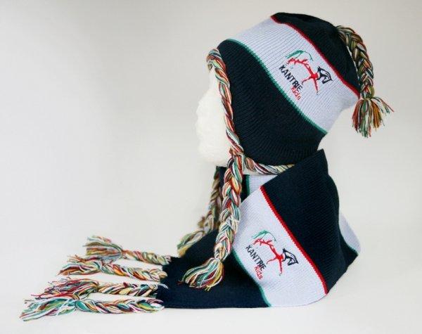 Dziecięcy komplet zimowy - czapka+szalik KANTRIE