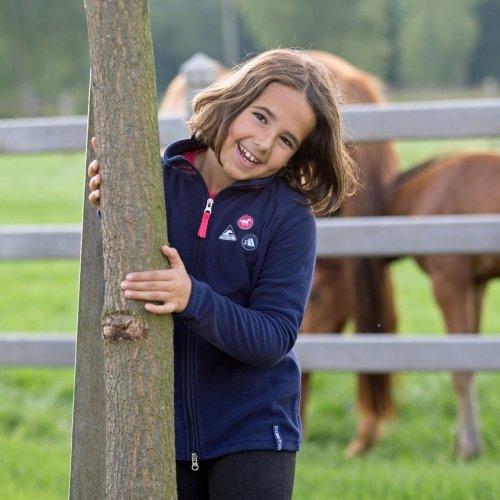 Bluza polarowa Evan Kids&Ponies - HORZE