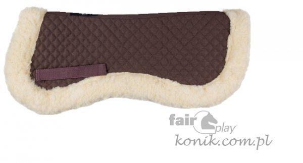 Podkładka pod siodło z futerkiem Fair Play