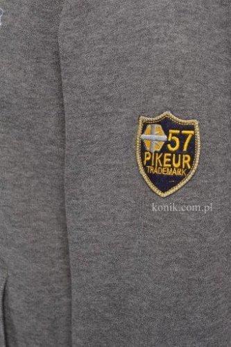 Bluza męska Pikeur z kapturem CLEMENS - grey melange