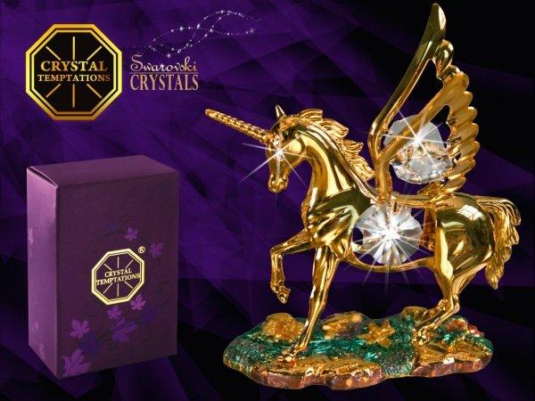 Figurka Pegaz Swarovski - Union Crystal