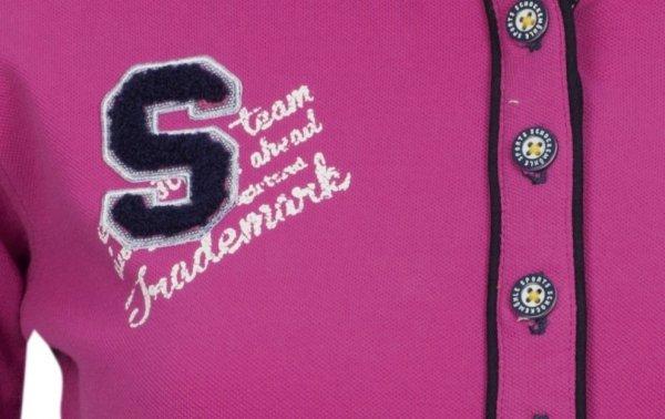 Koszulka polo MELISSA wiosna-lato 2014 - Schockemohle - orchid - damska