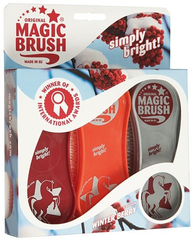 Zestaw szczotek MAGIC BRUSH Winter berry