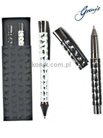Długopisy kulkowe w eleganckim pudełku - GRAY'S