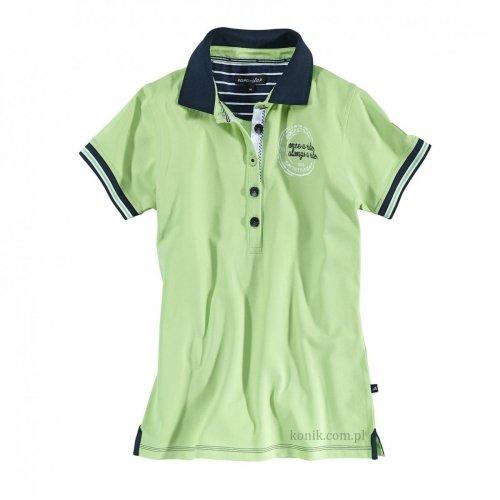 Koszulka damska polo PHILINE wasabi - Euro-Star