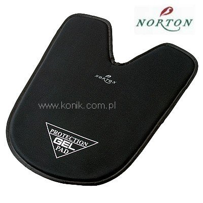 Żel pod siodło wycięty - Norton