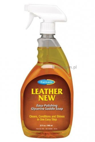 LEATHER NEW mydło glicerynowe do skór 946ml - FARNAM