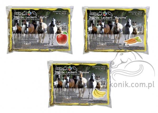 Ciasteczka / cukierki dla konia 750g - HKM