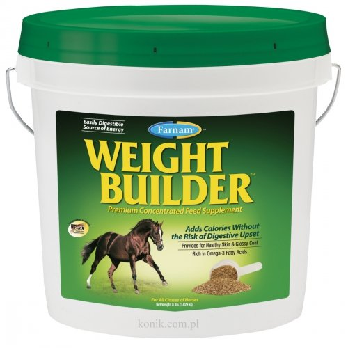 Suplement diety na wzrost masy Weight Builder 3,63kg - FARNAM