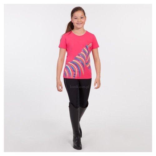 Koszulka dziecięca z nadrukiem ATK161302 - ANKY - azalea