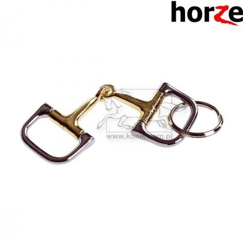 Brelok w kształcie wędzidła D-ring - HORZE