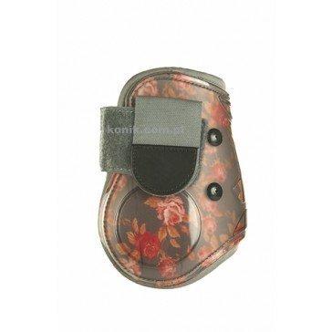 Ochraniacze HKM Roses KOMPLET szary