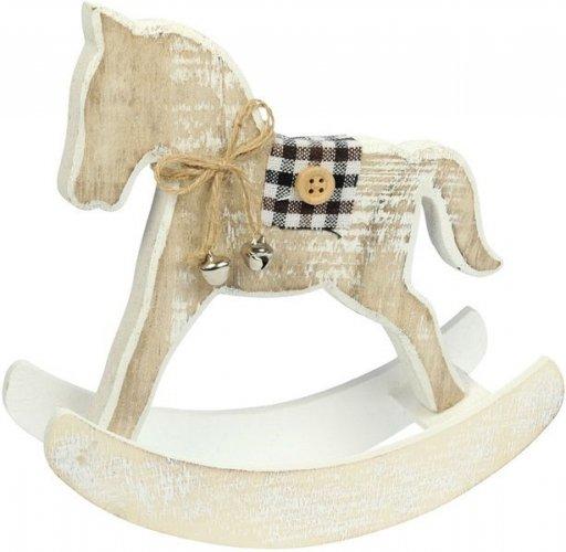Drewniany koń na biegunach - Ekkia