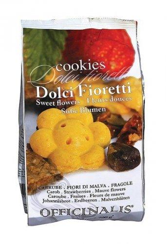 Cukierki dla konia DOLCI FIORETTI chleb świętojański, malwa, truskawka 700g - OFFICINALIS