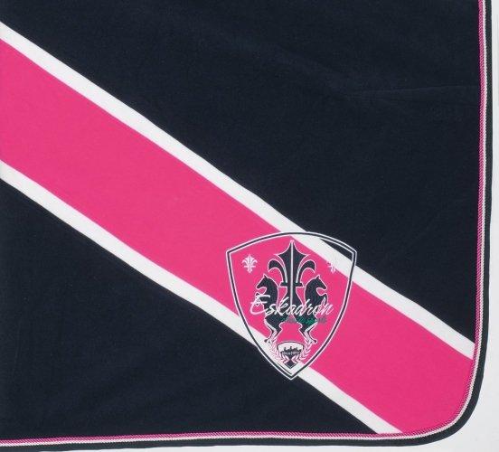 Derka polarowa Bicolor Eskadron CLASSIC SPORTS wiosna-lato 2015 - dark navy-pink