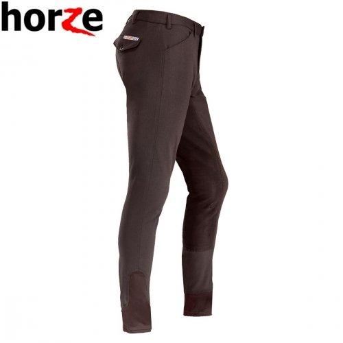Bryczesy męskie GRAND PRIX pełny lej z elastyczną wstawką -  HORZE