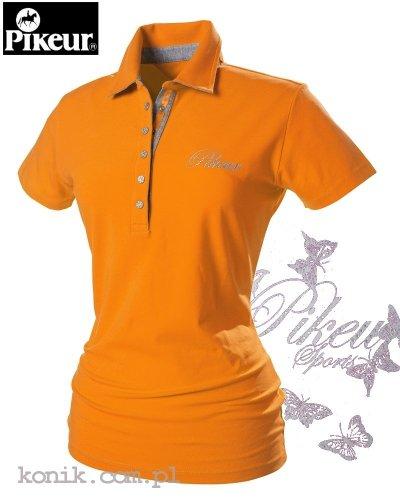 Koszulka polo Pikeur DOLLY - orange