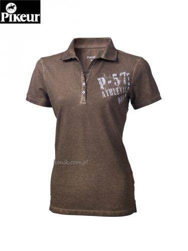 Koszulka polo Pikeur BELINA - shitake brown