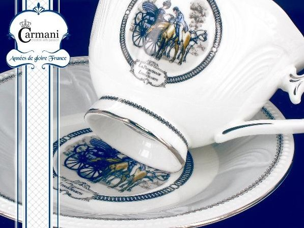 Zestaw filiżanka + spodeczek - CARMANI